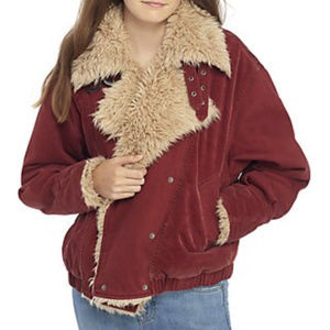 NWT Free People Owen Oversized Faux Fur Coat L